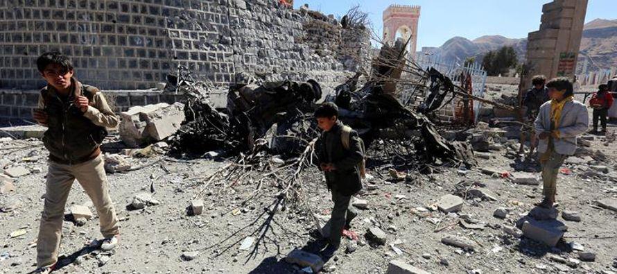 Según los testigos, a bordo de los jeep viajaban combatientes rebeldes, que fallecieron en...