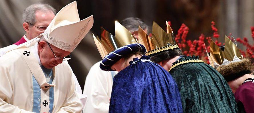 El pontífice dedicó la homilía de ese acto religioso a destacar el papel de la...