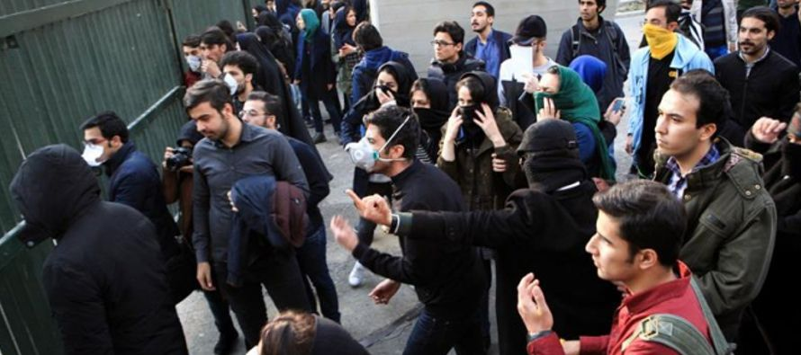 El presidente iraní reitero el derecho del pueblo a criticar y protestar pero afirmó...