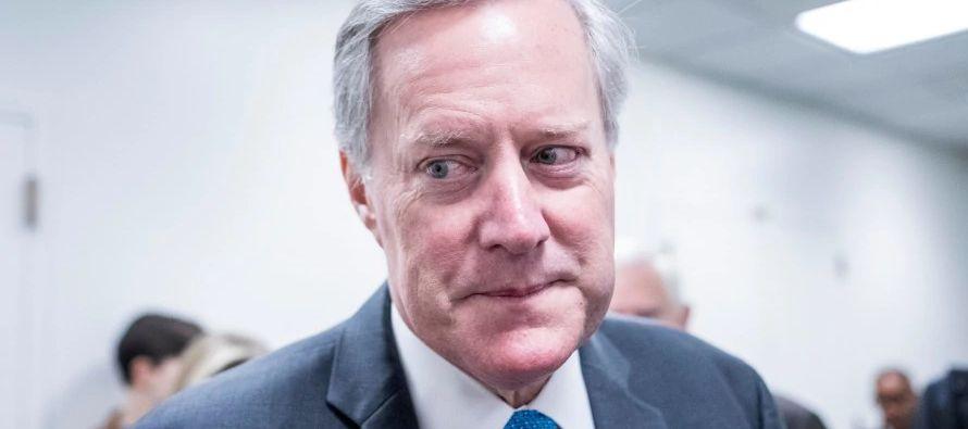 Meadows fue uno de los republicanos que a fines de diciembre votaron a favor de la reforma...