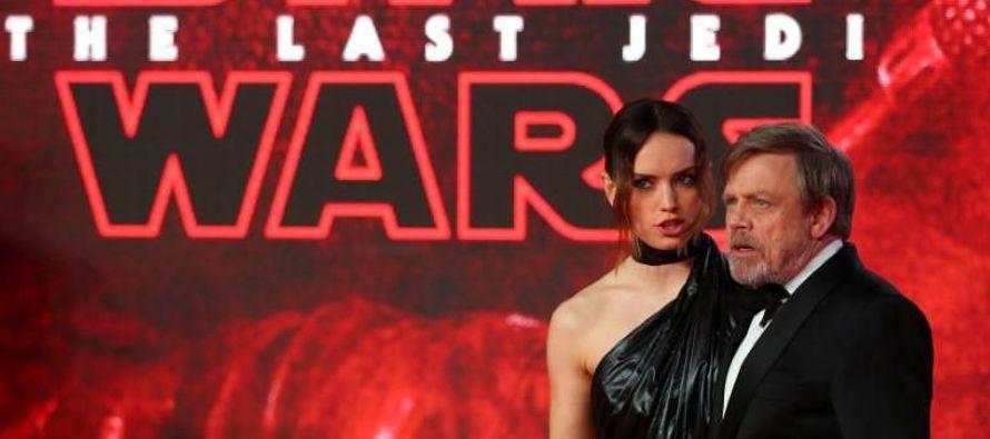 """""""Los últimos Jedi"""" se ubica hasta el momento en el puesto 24 de las..."""