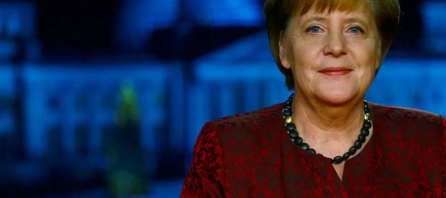 La canciller advirtió ya en su mensaje de Año Nuevo que Alemania no puede permitirse...