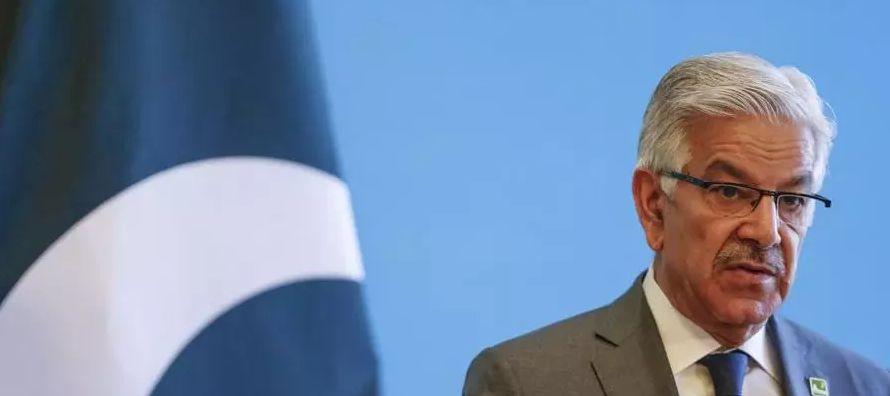 El ministro de Exteriores de Pakistán, Khawaja Asif, afirmó hoy que el presidente...