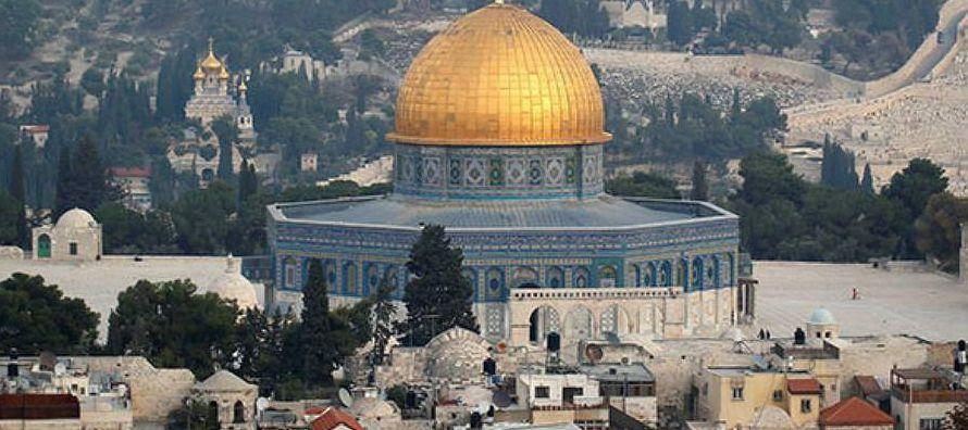 """""""La geografía del terror y del miedo"""" ha marcado Jerusalén, asegura a Efe..."""
