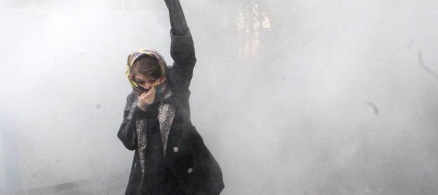 """""""Irán es escenario de un movimiento popular, debido a las políticas criminales..."""
