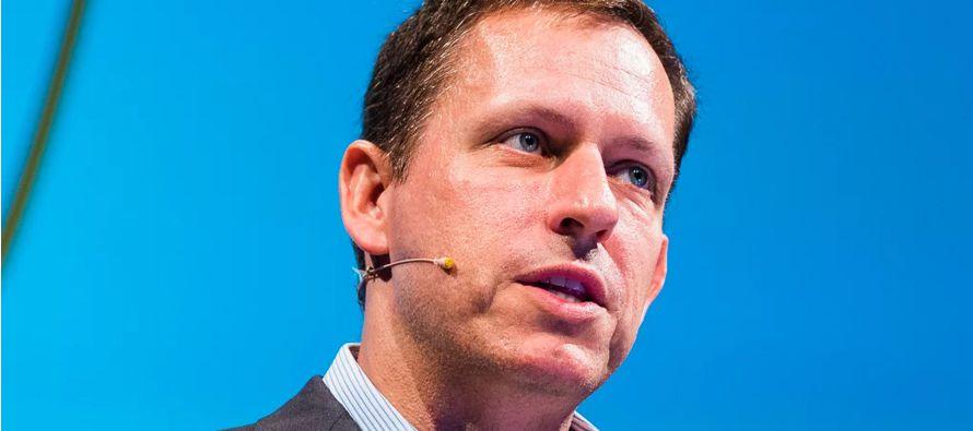 Thiel y su firma son conocidos por haber hecho inversiones tempranas, que pueden tardar años...