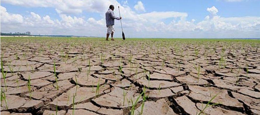 """""""Gran parte de Buenos Aires tuvo lluvias escasas o nulas, que no colaboraron a aliviar la..."""