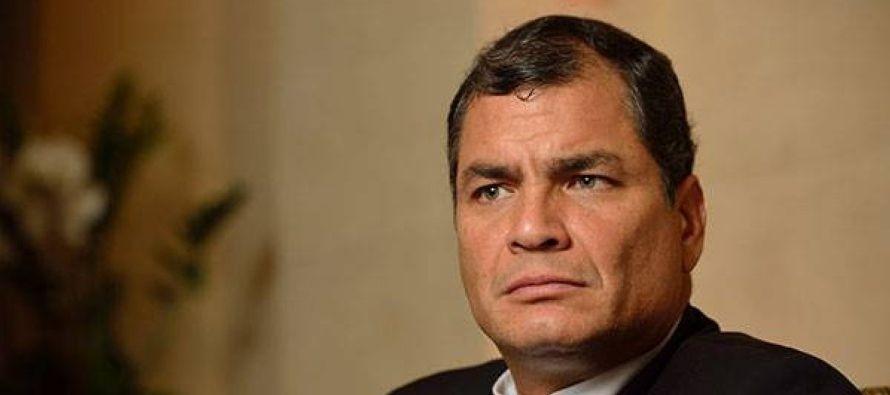 Ricardo Patiño, excanciller de Correa, también confirmó la llegada de el...