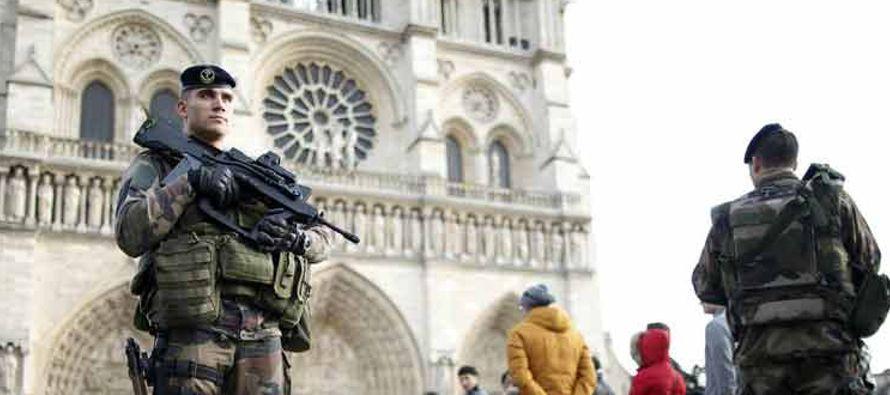 La lucha contra el terrorismo encabeza la lista de temas prioritarios para los franceses en el...