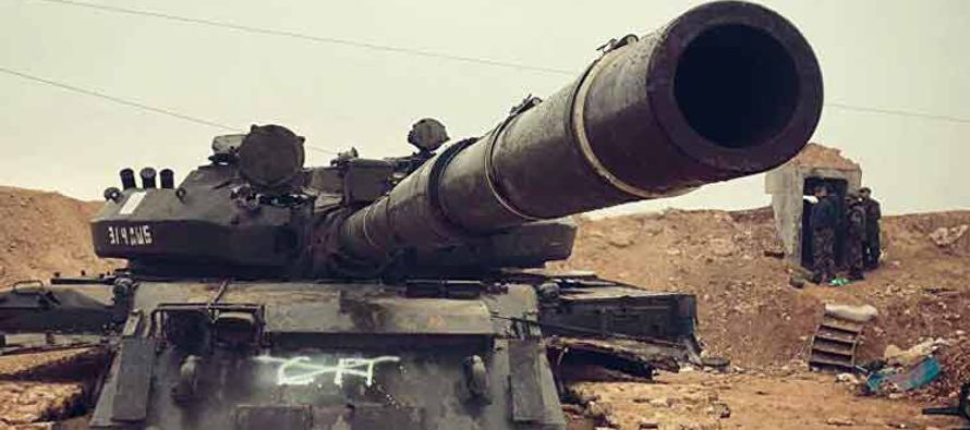 En Ghouta Este, otro frente abierto pese a los intensos bombardeos del ejército contra...