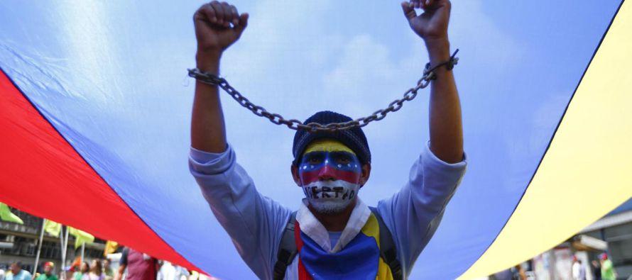 """Almagro certificó poco después la lista de """"presos políticos"""" que,..."""