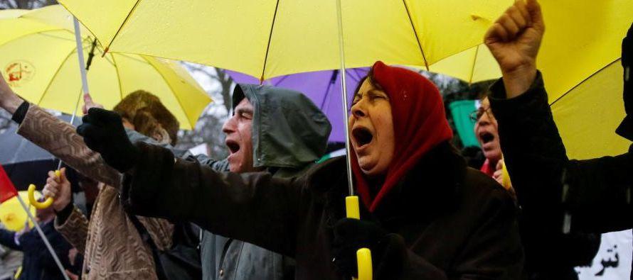 Según medios locales, las manifestaciones pro-régimen de hoy se llevaron a cabo de...