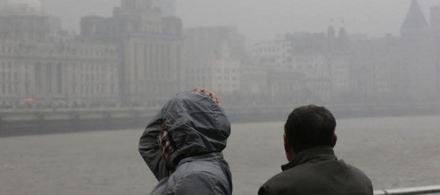 """""""Entre los esfuerzos de control de la contaminación del aire se encuentra el derribo de..."""