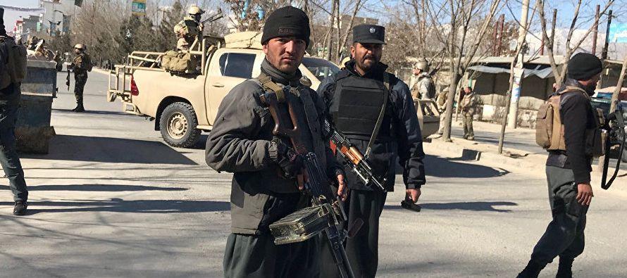 De vuelta a su ciudad natal, Asadabad, capital de la provincia de Kunar (este), Rafiullah trabaja...