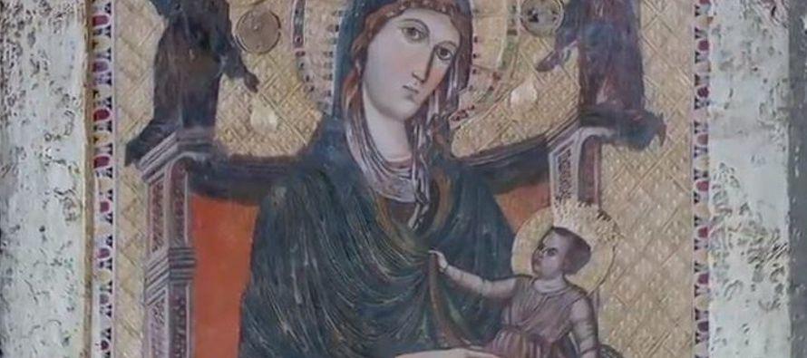 """Todos están asombrados, mientras que """"María, sin embargo, retiene todos estos..."""