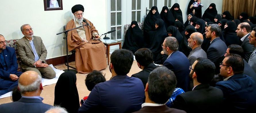 """""""En los sucesos recientes, los enemigos de Irán se han aliado y han usado los..."""