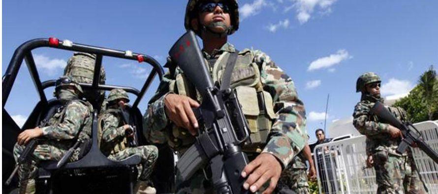 La ley, que refrenda el marco legal para la actuación de las fuerzas armadas en el combate...