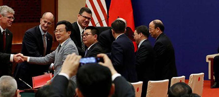 La afabilidad que surgió entre China y Estados Unidos en Beijing el pasado noviembre, cuando...