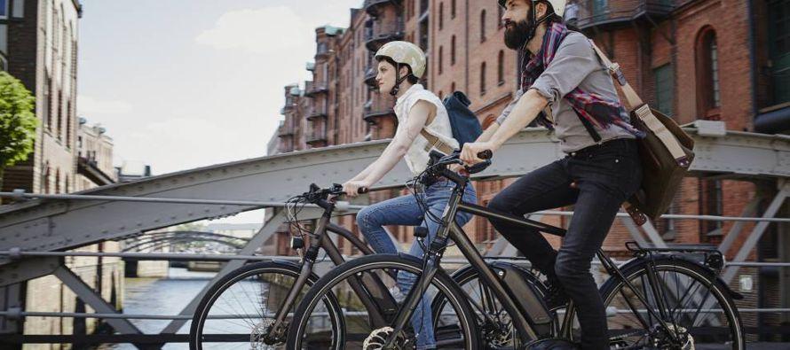 Para promover la cultura de optar por ese tipo de transporte, la compañía Electrobike...