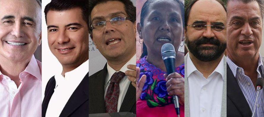 Según el más reciente reporte del Instituto Nacional Electoral (INE), ninguno de los...