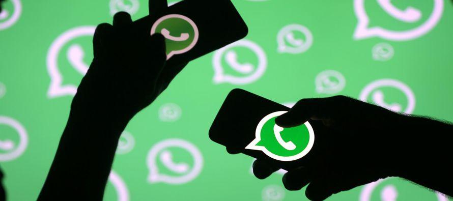 Un portavoz de Whatsapp detalló que dentro de los 75,000 millones de mensajes que marcaron...