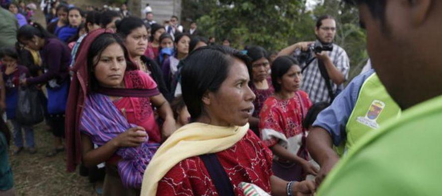 El pasado octubre, 5,000 indígenas del municipio de Chalchihuitán huyeron de sus...