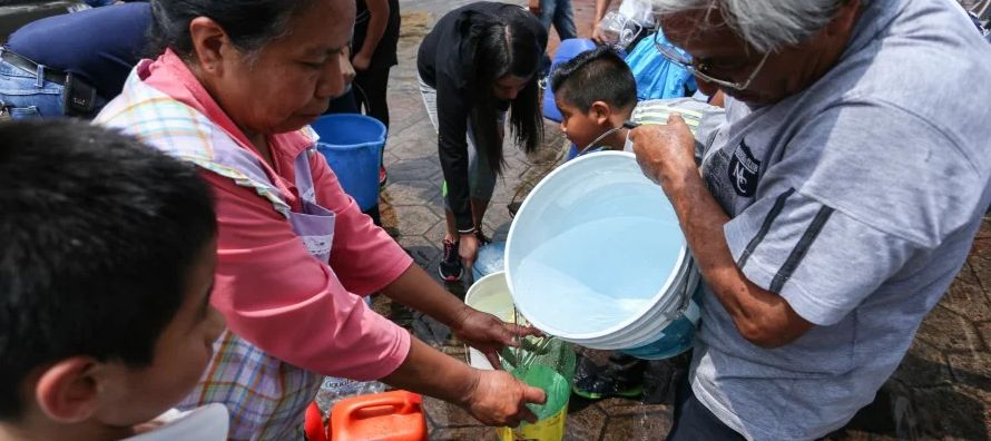 La falta de agua ha marcado el inicio del año en México. Más de cinco millones...