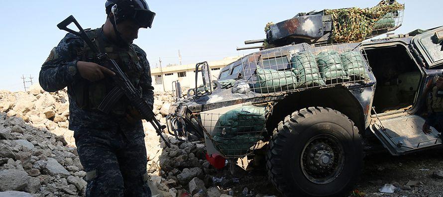 Los efectivos leales al presidente sirio, Bachar al Asad, liderados por el general Suheil Hasan,...