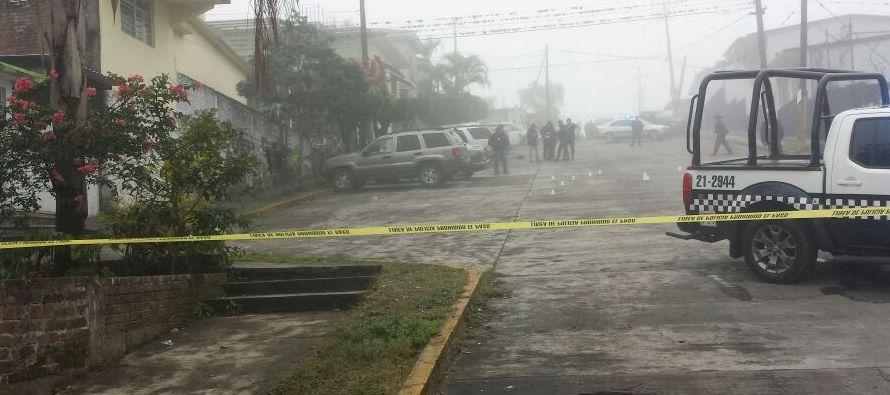 Según datos oficiales, hasta noviembre hubo 23.101 homicidios dolosos en México,...