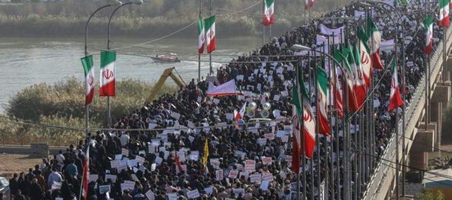 Unos cuarenta millones de afiliados en Irán, la mitad de la población. Una cantidad...