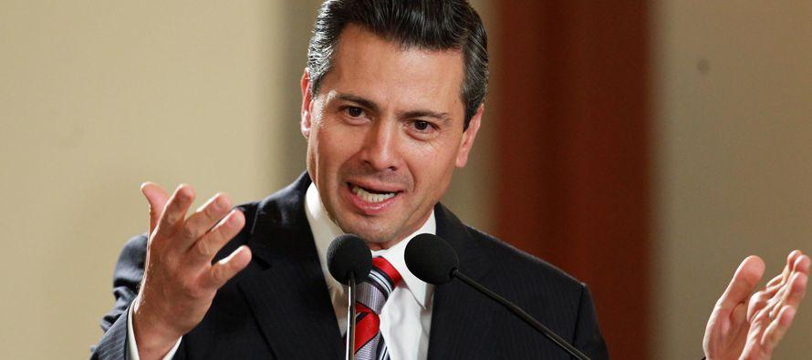 """El presidente auguró """"un gran año 2018"""" a todos los mexicanos, a quienes..."""