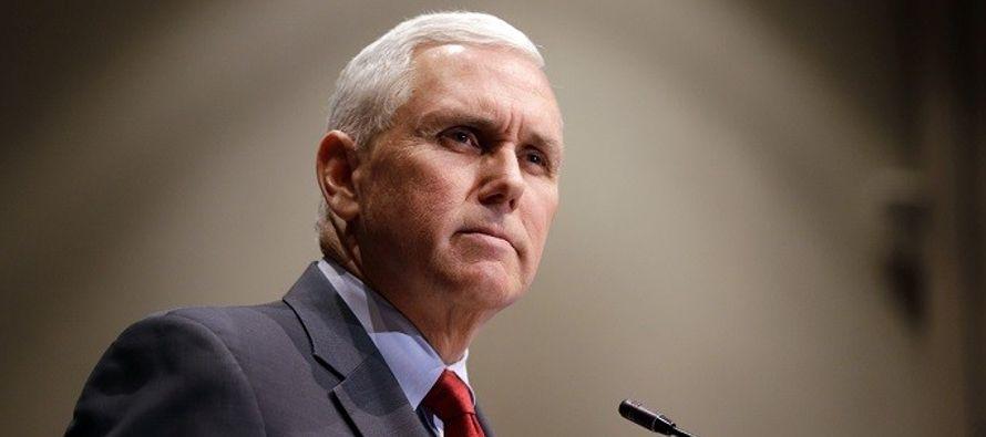 Pence despegará de Washington el 19 de enero y llegará a Egipto el día 20,...