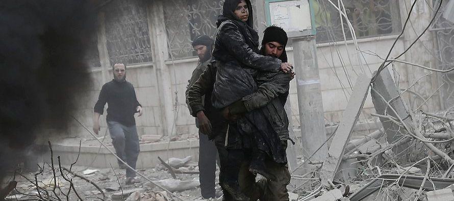 Durante la jornada de hoy las fuerzas gubernamentales sirias han tomado el control de doce...