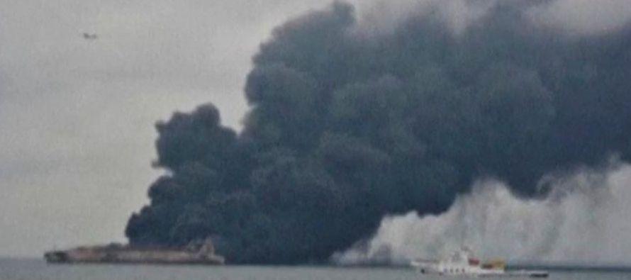 En un principio había 32 tripulantes del Sanchi desaparecidos, treinta iraníes y dos...