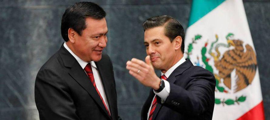 Con sorpresa, Osorio era el candidato más favorecido en las encuestas a pesar de las...