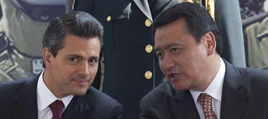 El presidente de México, Enrique Peña Nieto, cambió hoy a sus ministros...