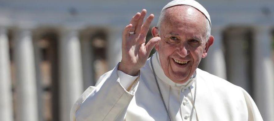 """Francisco regresará a Latinoamérica con su encíclica """"Laudato Si""""..."""