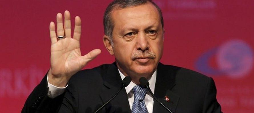 El presidente turco recordó que en los últimos 15 años Turquía ha...