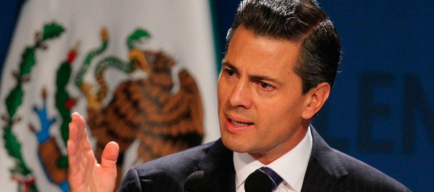 """Manifestó que """"México mantendrá una posición firme, seria,..."""