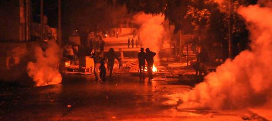 La información oficial de los desórdenes y enfrentamientos registrados en todo el...