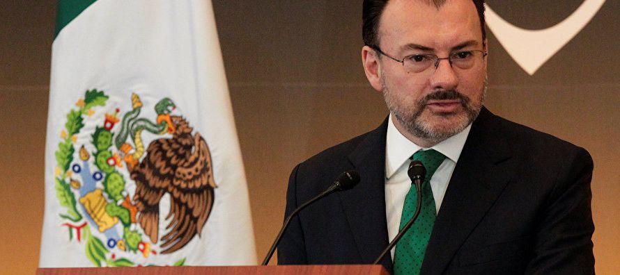 """""""Videgaray Caso se encuentra en Santo Domingo para participar en la tercera reunión de..."""