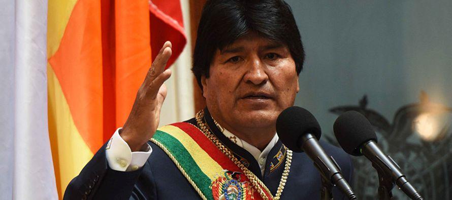 """El gobernante boliviano agregó que """"la historia ha demostrado que los que ofenden..."""