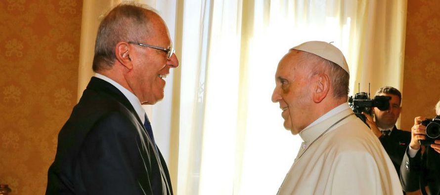 Aráoz también dijo que Kuczynski asistirá a las actividades del papa en Puerto...