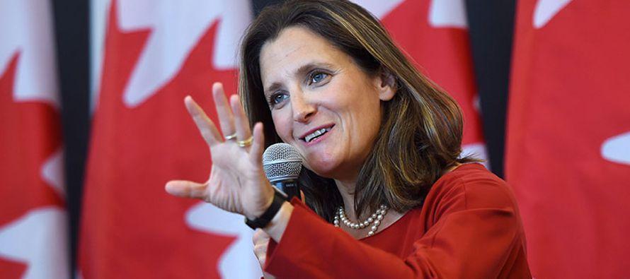 """""""Canadá está preparada para dedicarle el tiempo que sea necesario para que..."""