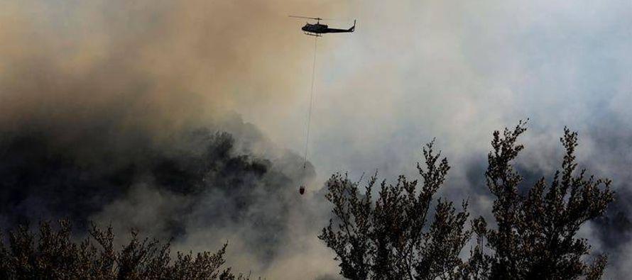 Según los datos oficiales del Departamento Forestal y de Protección Contra Incendios...
