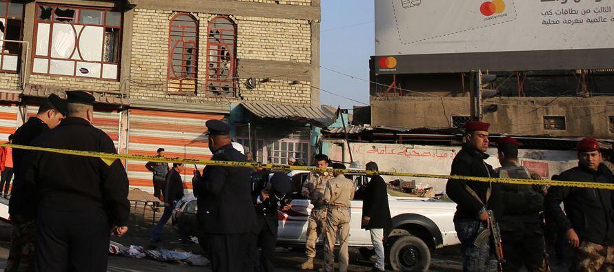 Este es el segundo atentado en tres días en la capital iraquí, después del...