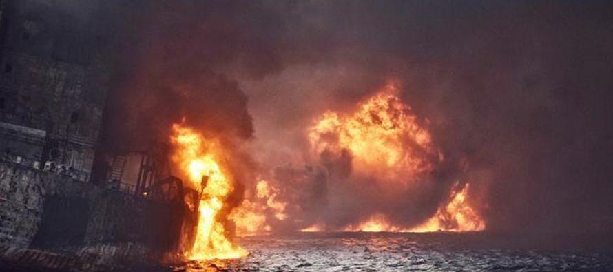 La Administración Oceánica Estatal de China dijo que debido a que el casco del barco...