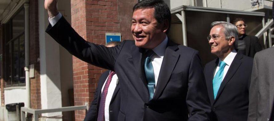 Miguel Ángel Osorio Chong renunció a la Secretaría de Gobernación...
