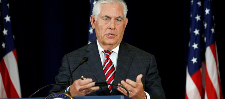 """El secretario estadounidense también dijo que su país busca """"fortalecer las..."""