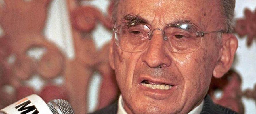 Echeverría era el secretario de Gobernación, encargado de la seguridad nacional, del...